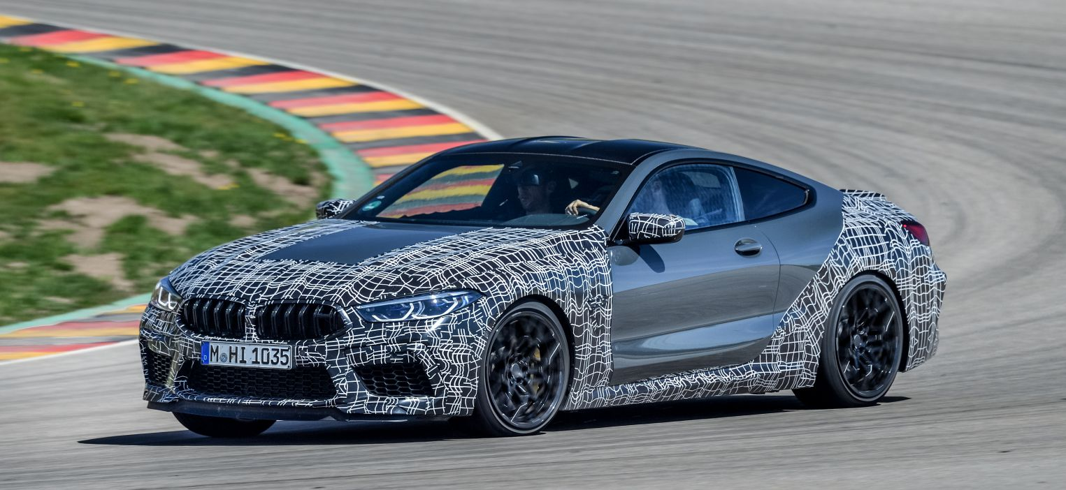 2020 BMW M8 gets new braking system and driver display