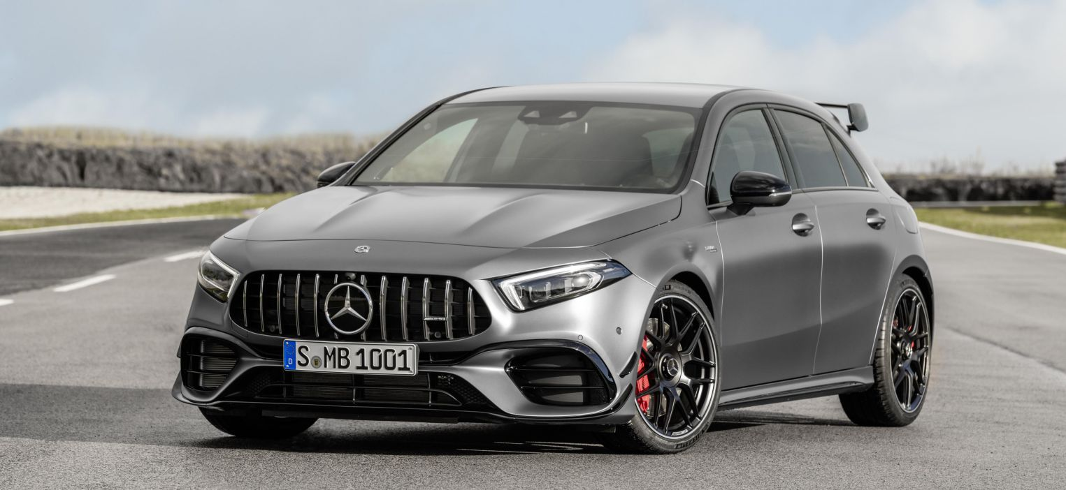 2020 Mercedes-AMG A45 and CLA45 revealed