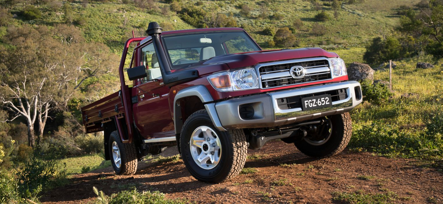 2017 Toyota LandCruiser 70 Series GXL Single cab-chassis